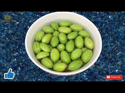 Preserve Green Olive  / طرز شيرين كردن زيتون / Cure Green Olive