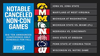 Breaking News: Big Ten to Play Conference-Only Schedule for All Fall 2020 Sports | Big Ten Athletics