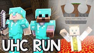 UHC RUN - GEJMR se koupe v lávě - Minecraft Mini hry 59 w/ GEJMR a Pedro