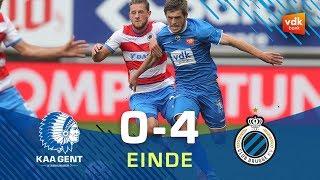 🎬KAA GENT - Club Brugge: 0-4