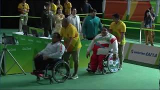 عمرو محمد يضيف لمصر ميدالية جديد ببارلمبياد ريو دي جانيرو