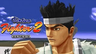 Virtua Fighter 2 no Mega Drive !