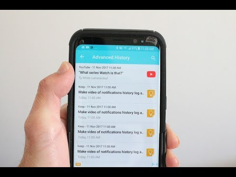 Notification History Log App Review