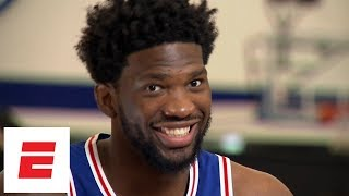 Joel Embiid interview: Learning to shoot 3s from YouTube, reaction to fired GM Bryan Colangelo
