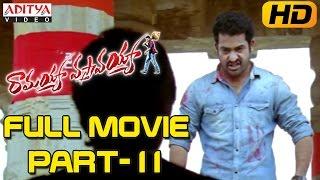 Ramayya Vasthavayya Telugu Movie Part 11/12 - Jr.NTR,Samantha,Shruti Haasan