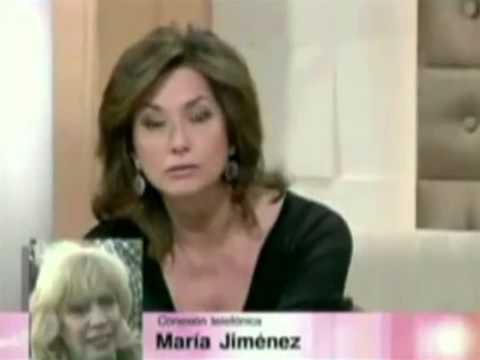 María Jiménez insulta a Ana Rosa Quintana y su CV ('Sabor a ti')