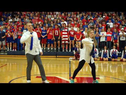 2018 Roncalli Homecoming Pep Assembly