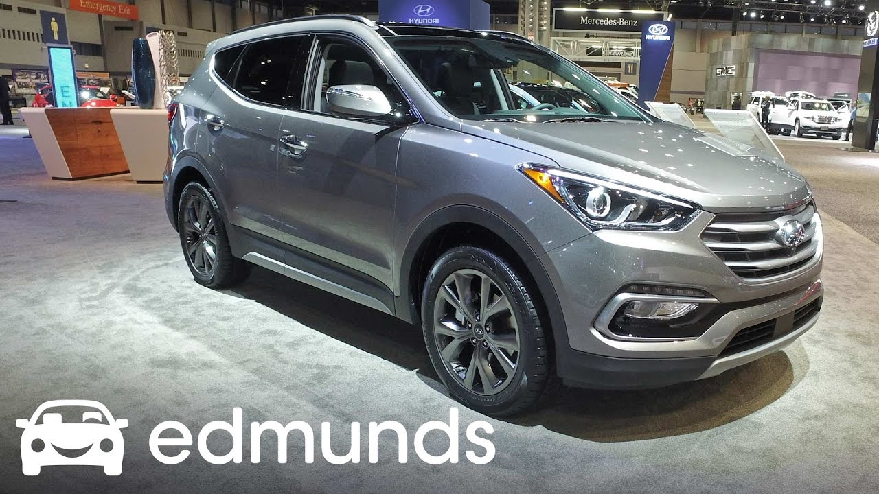 2017 Hyundai Santa Fe Sport Review Ratings Edmunds
