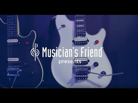 fc745c52dbf EVH Wolfgang USA Edward Van Halen Signature Electric Guitar - New From NAMM  2017 - YouTube