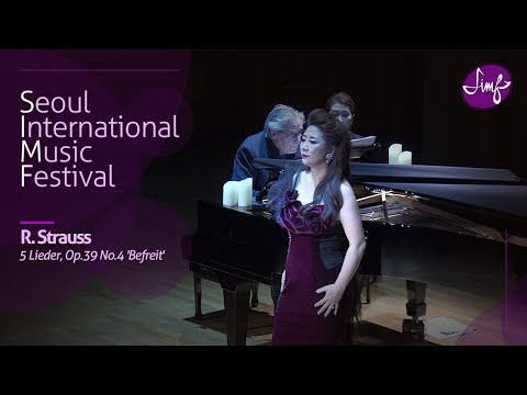 Ralf Gothoni l Jae-Eun Paik l Richard Strauss : 5 Lieder, Op.39 No.4 'Befreit' l 2018 SIMF