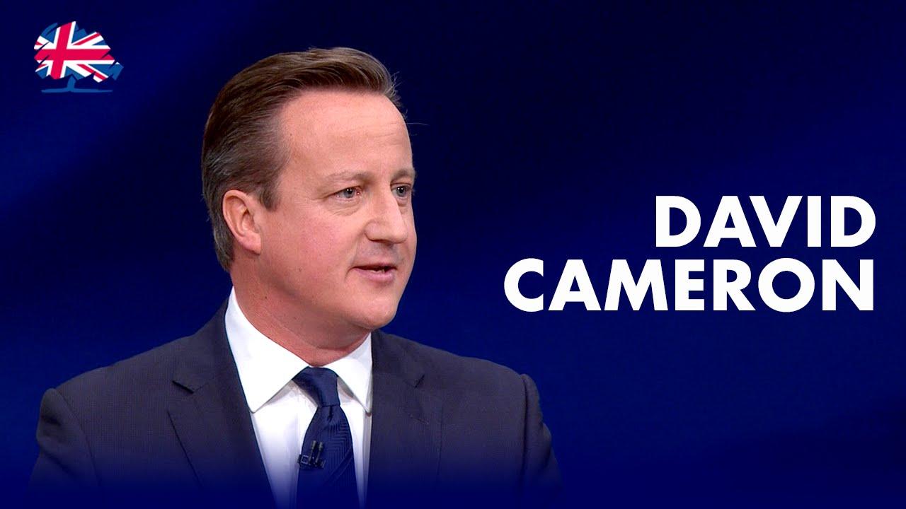 david camerons first speech as prime
