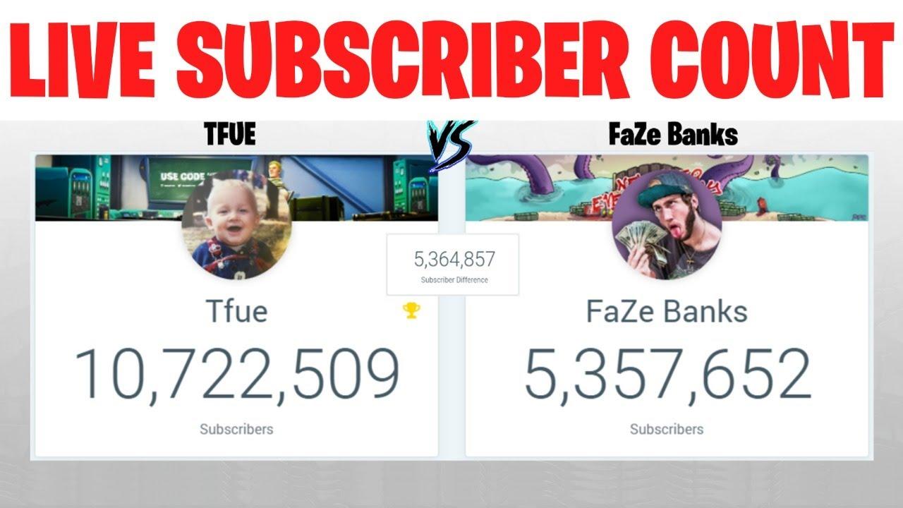 Tfue vs FaZe Banks CONTINUES! LIVE