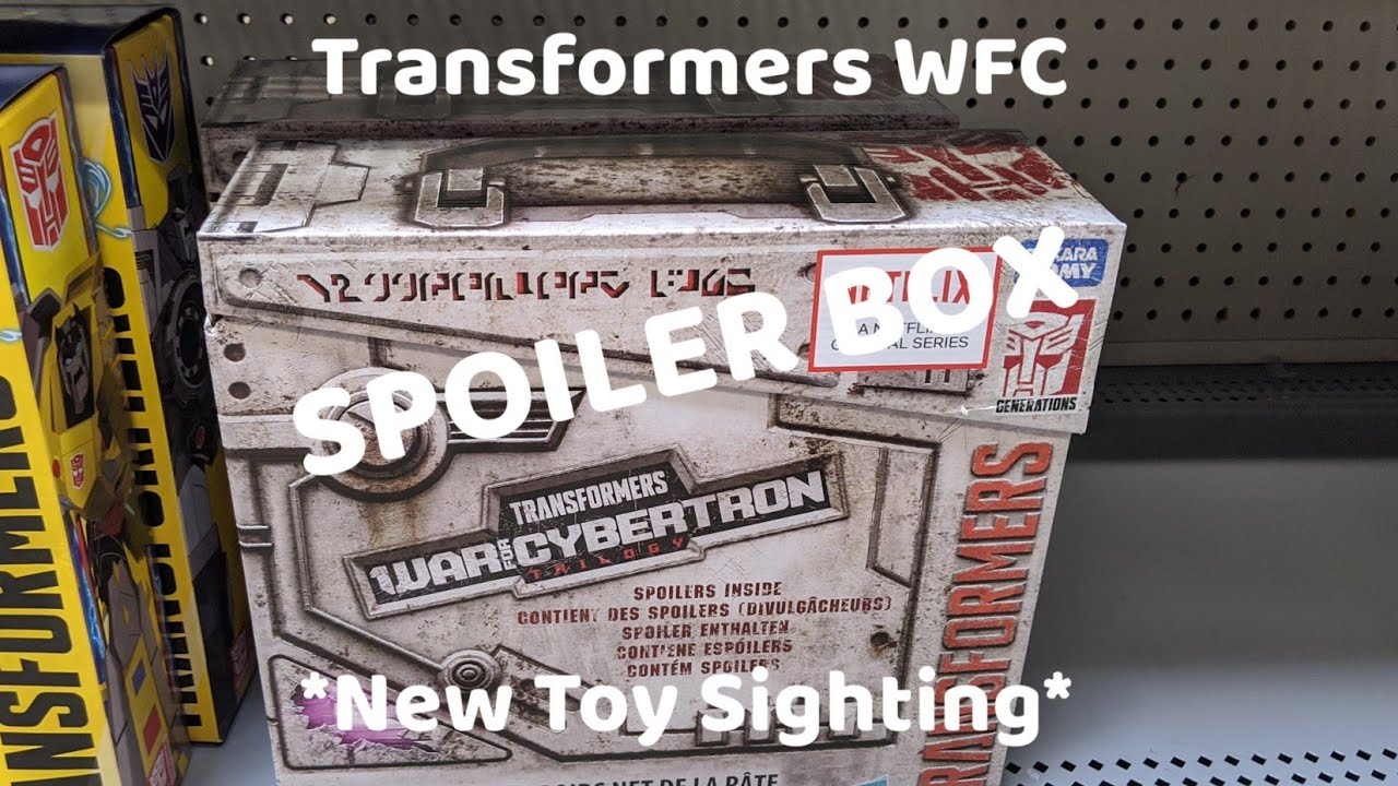 Netflix WFC SPOILER BOX Sighting by Rodimusbill