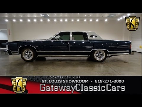 1978 Lincoln Town Car - Gateway Classic Cars St. Louis - #6550