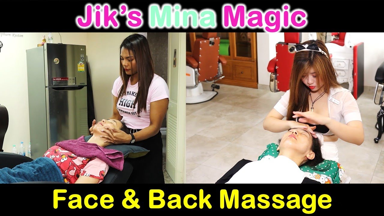 Jik vs MINA Face and Back Massage Comparison