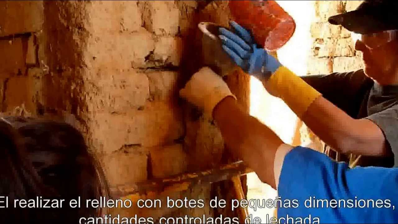 Consolidacion muro de adobe mediante la inyecci n de - Reparacion de humedades en paredes ...