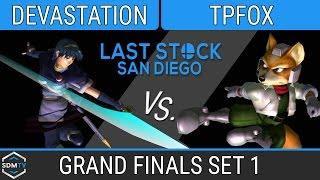 lssd 80 devastation marth vs tpfox fox ssbm grand finals set 1 smash melee