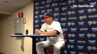 Indians manager Terry Francona, on the Indians