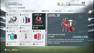 How to unlock celebrations in FIFA 14