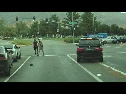 Road Rage at CSUSB