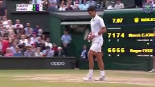 Wimbledon finals 2019 results