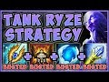 WTF! NEW BEST REWORKED RYZE BUILD?? 100% KITE/DODGE ALL ABILITIES! RYZE TOP S9! - League of Legends