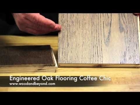 Engineered Oak Flooring Coffee Chic Brushed and UV Oiled Review