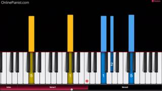 La Vie en Rose - Easy Piano Tutorial