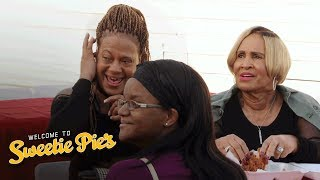 Miss Robbie Visits Tim's Food Truck for the First Time | Welcome to Sweetie Pie's | OWN