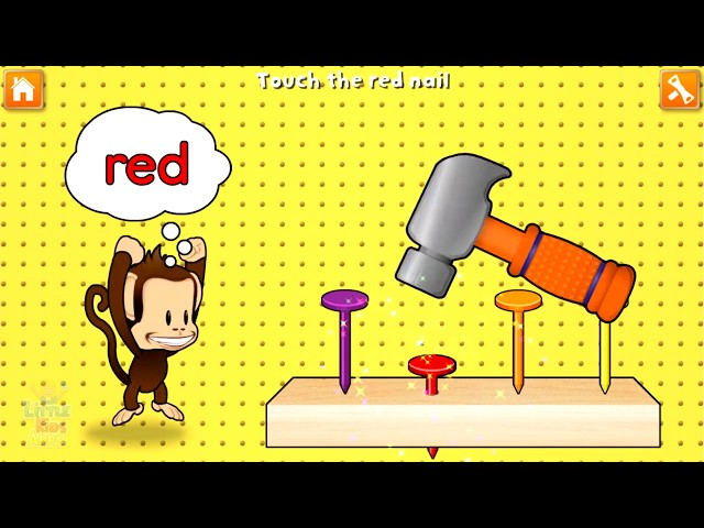 Kids Learn Colors Letters Numbers with Monkey Preschool - Fun Educational Game for Toddlers