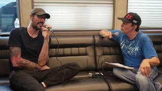 Breaking Benjamin Backstage Interview with iHeartRadio's Bodhi