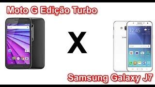 Motorola Moto G Edição Turbo e Samsung Galaxy J7 - Análise - Português
