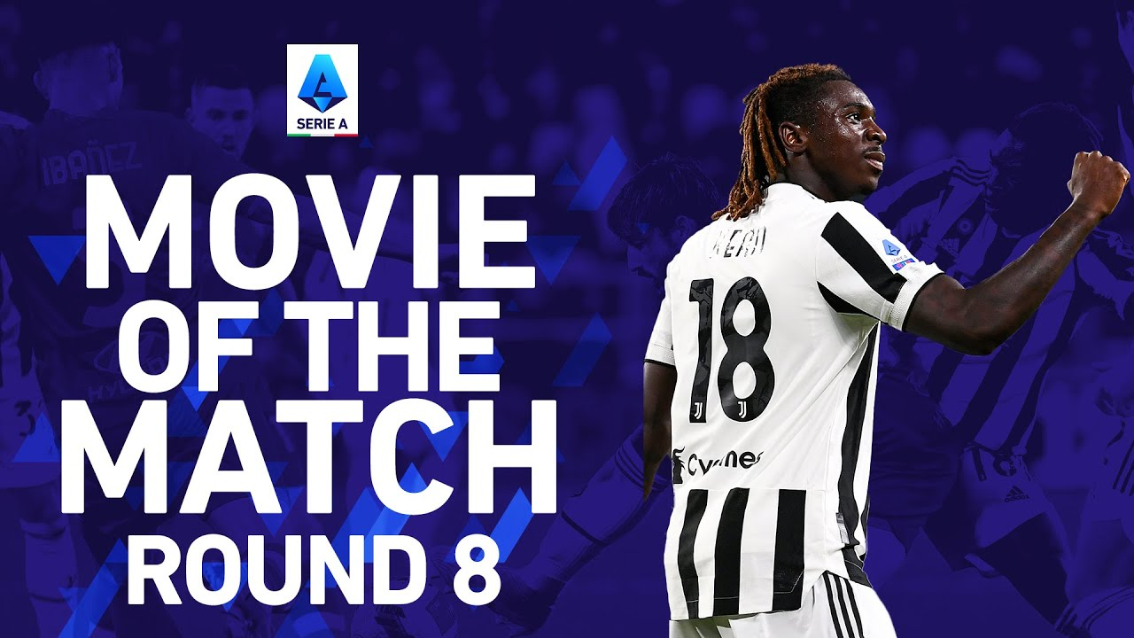 Kean scores the winner against Roma!   Juventus 1-0 Roma   Movie of The Match   Serie A 2021/22