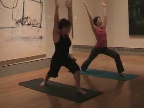 Art Yoga at the Columbia Museum of Art