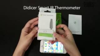 Didicer Smart IR Thermometer with APP Control - Gearbest.com