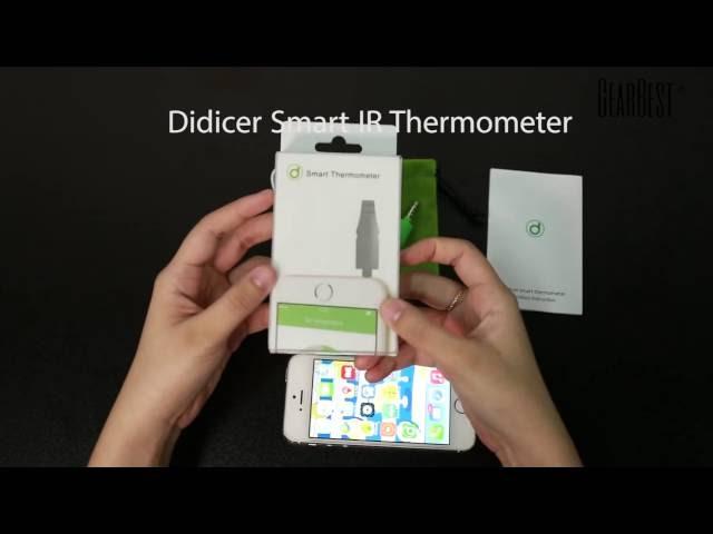Didicer Smart IR Thermometer APP Control Temperature Measurer