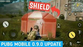 PUBG Mobile Timi 0.9.0 Update | Shield, stone suit, hologram | Fortnite Copy