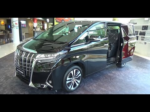 all new toyota alphard 2018 indonesia harga kijang innova reborn executive lounge 3 5i auto 6 000 miles supplied by 5