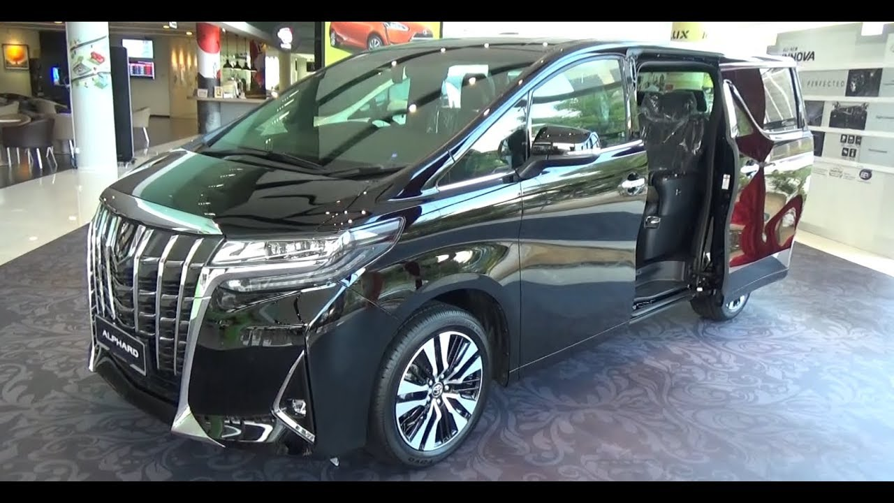 all new alphard 2018 harga lampu reflektor grand avanza toyota 3 5 executive lounge youtube