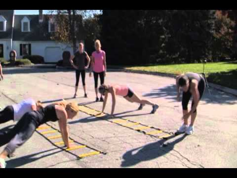 Bootcamp Fitness with no equipment by Kelly Albright