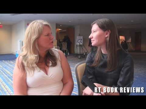 Interview with romance author Kristen Ashley - YouTube