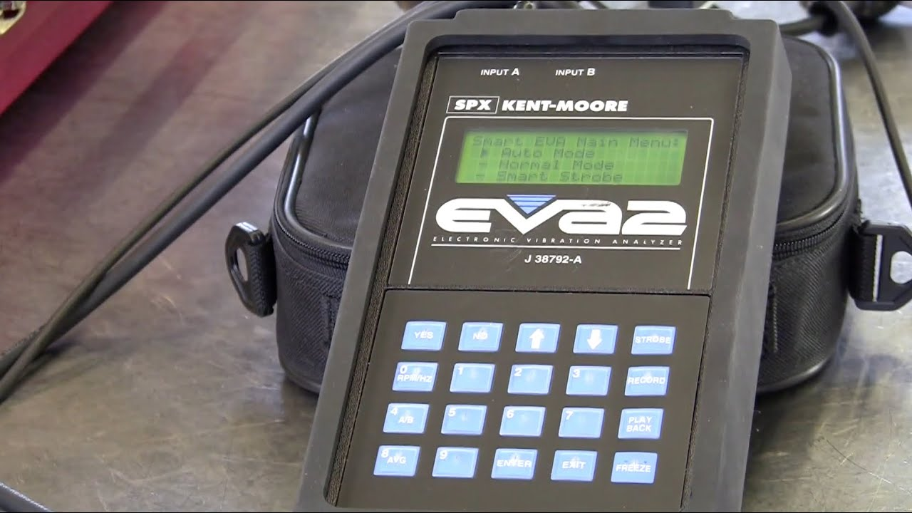 Automotive Vibration Analyzers - Part 2 of 5 - EVA