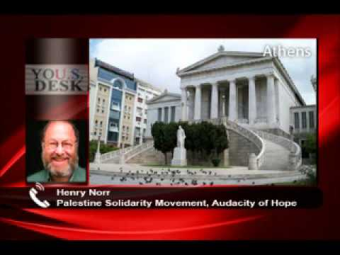 """Henry Norr: """"US needs a declaration of independence - from Israel"""""""