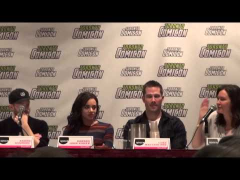 Killjoys cast at Toronto Comicon - March 19, 2016