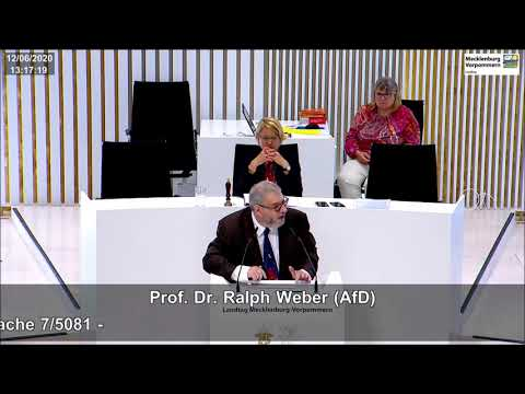 Prof. Dr. Ralph Weber: Barbara Borchardt wurde mit den Stimmen der CDU gewählt!