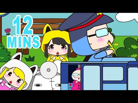 Wheels on the bus And More KIGURUMIN | Children Nursery Rhyme | Kids Songs | Baby Puff Puff