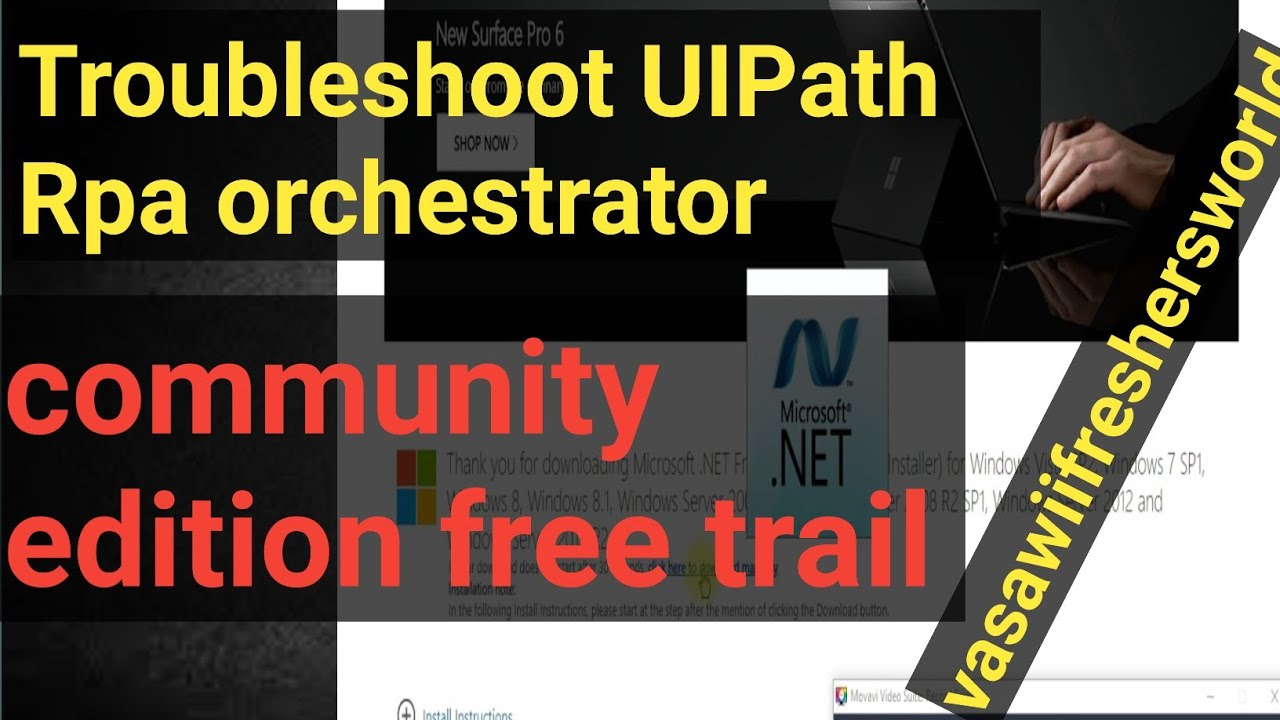 Troubleshooting RPA UIPath Orchestrator Community edition installation Issues