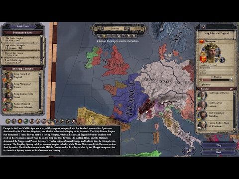 *VOD* - Crusader Kings II (Hundred Years' War) - Part 1: Plantagenet VS. Valois
