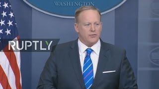 LIVE  Briefing by White House Press Secretary Sean Spicer