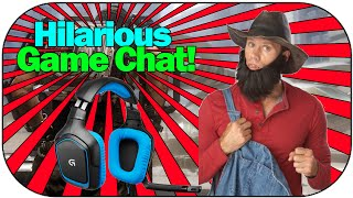 HILARIOUS GAME CHAT in ADVANCED WARFARE!